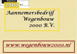 Wegenbouw 2000