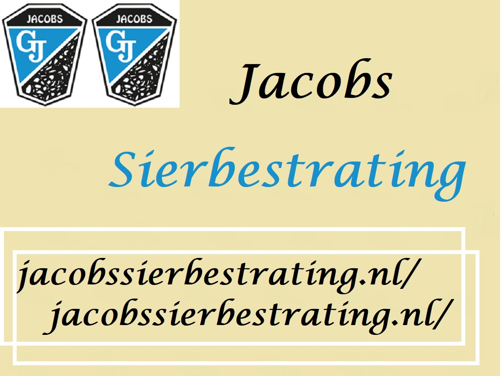 Jacobs Sierbestrating